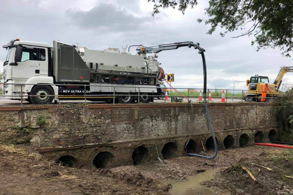 Culvert Cleaning Inspection